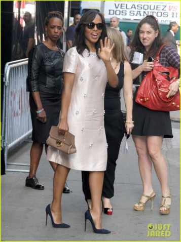 "Kerry Washington Visits ""Good Morning America"""