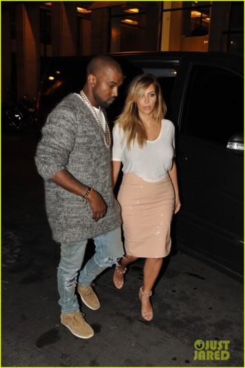 Kim Kardashian And Kanye West Go On A Date