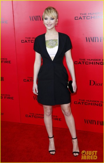 Celebrity Arrivals at the premiere of 'Hunger Games : Catching Fire' in NYC