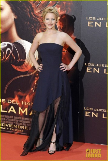 'The Hunger Games: Catching Fire' - Madrid Premiere