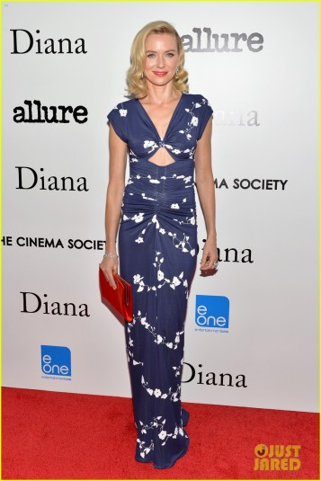 "The Cinema Society With Linda Wells And Allure Magazine Host The Premiere Of Entertainment One's ""Diana"" - Arrivals"