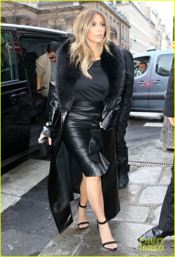 Kim Kardashian Goes Shopping At Tom Ford