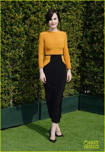 LoveGold Honors Michelle Dockery For A Celebration Of Gold And Glamour