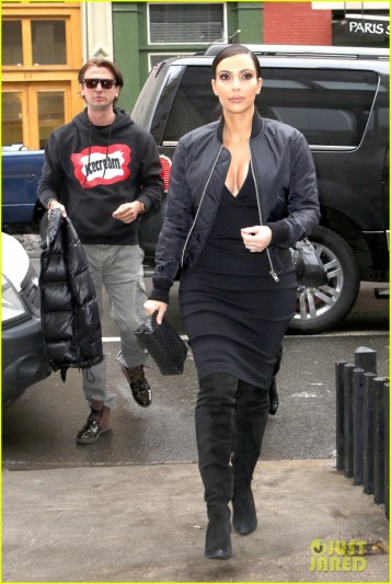Kim Kardashian grabs a Cipriani lunch for Jonathan Cheban's 40th Birthday