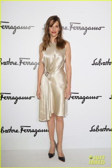 Salvatore Ferragamo - Front Row - Milan Fashion Week Womenswear Autumn/Winter 2014
