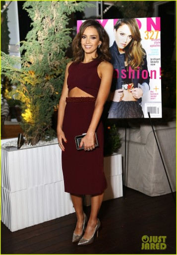 NYLON & Hudson Jeans March Issue Launch Party Hosted by Cover Star Jessica Alba