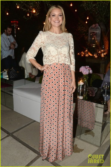 Chrome Hearts & Kate Hudson Host Garden Party To Celebrate Collaboration