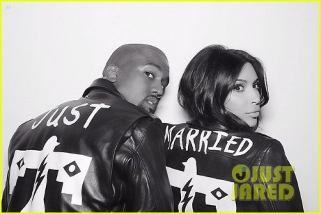kim-kardashian-kanye-west-wear-matching-just-married-jackets-01