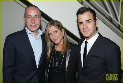 Jennifer Aniston, Justin Theroux, Dan Peres