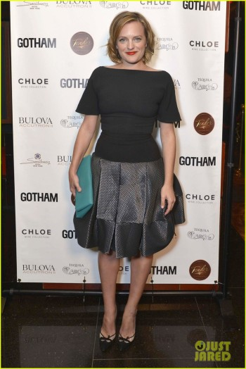Gotham Magazine Celebrates September Cover Star Elisabeth Moss At Tender Restaurant