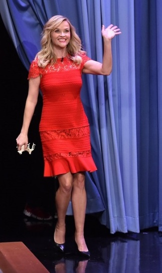 """Reese Witherspoon Visits """"The Tonight Show Starring Jimmy Fallon"""""""