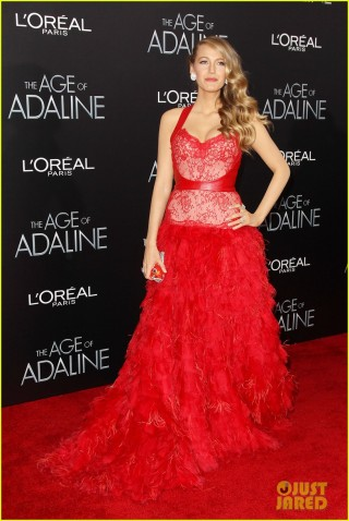 US Premiere of The Age of Adaline Presented by L'Oreal Paris