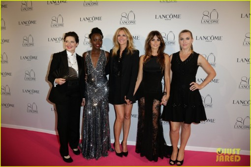 The Lancome 80th Anniversary party red carpet arrivals **USA ONLY**