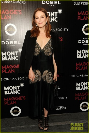 Montblanc And The Cinema Society With Mastro Dobel & Kim Crawford Wines Host A Screening Of Sony Pictures Classics' Maggie's Plan - Arrivals