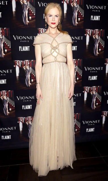 Flaunt And Vionnet Celebrate The Nocturne Issue With Nicole Kidman