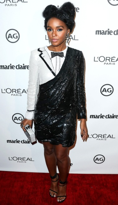 Janelle Monae arrives at Marie Claire's Image Maker Awards 2017