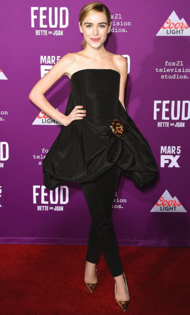 "Arrivals at Hollywood: FX's ""Feud: Bette and Joan"" premiere"